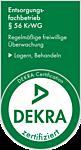 DEKRA zertifiziert als Entsorgungsfachbetrieb nach § 56 KrWG